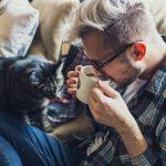 猫と飲むスタバ
