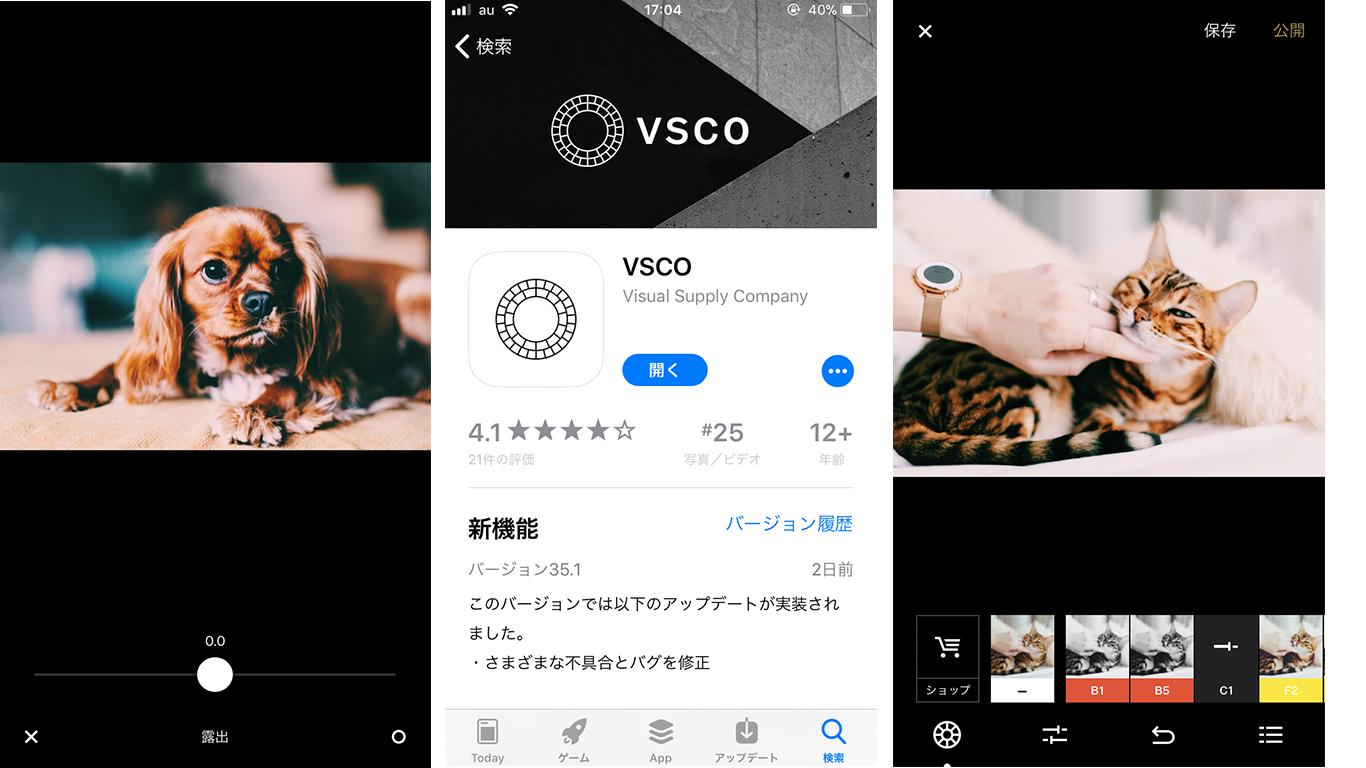 VSCO-紹介画面