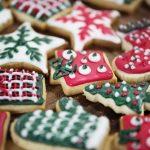 赤と緑なクリスマスクッキー