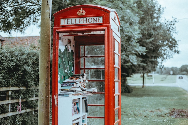 イギリスの電話