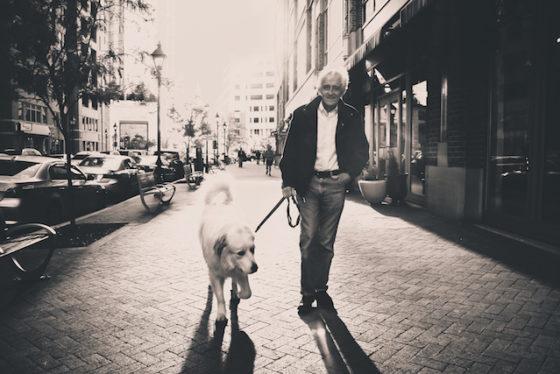 old dog old man