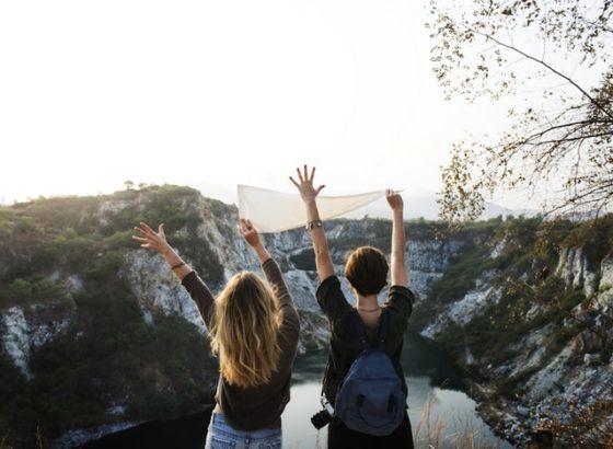 女子2人旅行